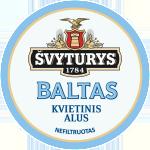 Švyturio Baltas pilstomas alus